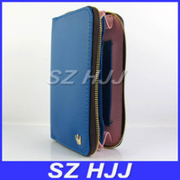 Wholesale Multifunctional Mobile Phone Bag PU Leather Pouch for iphone5 iphone4S Samsung S3 i9300