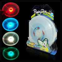 Wholesale UFO plastic LED frisbee beach lawn luminous frisbee hot flash flying saucer new style