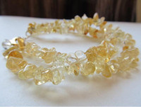 Women's Party Citrine New Arrive Jewelry Christmas Gift ! Very Beautiful Genuine Natural 2Row Citrine Bracelet Adjustable