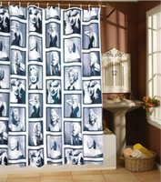 Wholesale Marilyn Monroe bath shade a of classical photos fashion shower curtain