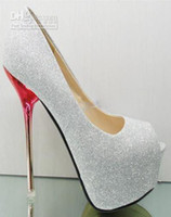 Wholesale New sexy Women High heels shoes platform wedding heels women s shoes girl s high heel size