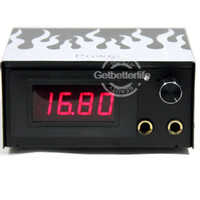 warehouse in china - USA warehouse LCD Tattoo Power Supply GBL WS P002 Hot sell Made in China