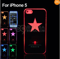 STAR SENSE FLASH LIGHT LED LCD 6 COLOR CHANGE HARD CASE COVE...