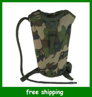 Multi-colored backpack hydration system - High quality L TPU Hydration System Bladder Water Bag Backpack Woodland Camouflage