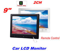 Wholesale Super Slim quot Touchscreen TV Color Remote Control TFT Car dvd LCD Monitor Touch