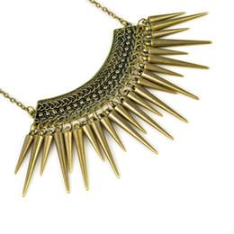 Exaggeration drop-rivet fashion necklace,NL-1912