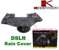 Wholesale DSLR SLR Camera Protector Rain Cover Raincoat Rainwear Rainproof For Canon Nikon Sony