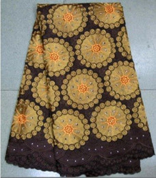 Wholesale wedding lace african fabric swiss voile lace by DHL fashion designs L155
