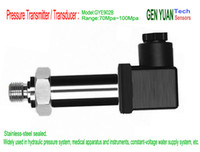 Wholesale 70Mpa Mpa Stainless steel sealed Liquid and Gas Pressure Transmitter Transducer Pressure Sensor