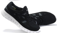Wholesale Flying Fire Free Running Shoes Trainer Sports Sneaks Shoes Mesh Black Blue Grey prs