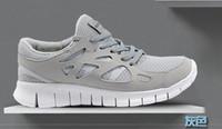 Men Sports Shoes Free Running Sneaker Grey Blue Black Mesh E...