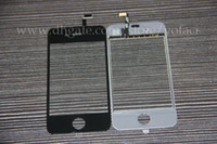 Wholesale For iphone th G S LCD Screen Replacement Screen Glass LCD Panel Digitizer Black White