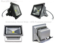 Wholesale LED Floodlight V V Watt enough power Flood Lights high brightness LM LED bright light waterproof IP65 DHL shipping free