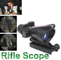 aiming rifle - Trijicon ACOG TA31RCO A4 NSN1240 Rifle Scope Aiming Rule Sight Telescope with Gun Mount New