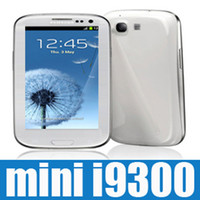 Wholesale mini i9300 TV dual sim qand band inch unlocked efit cheap cell phone S3 i8160 s7562