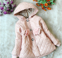 Wholesale Winter Autumn Children clothing baby clothes kids coat cotton girls hoodies coat kids Down Jacket