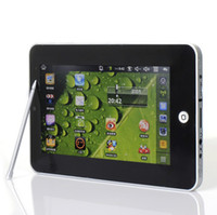 Wholesale New arrival Updated version inch Google Android VIA8650 Tablet PC GB GB WiFi G Sensor Camera