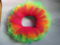 Wholesale Free sipping multicolor sexy adult tutu layer puffy tutu skirt pettiskrt tutu for girls