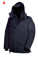 Wholesale Mens Down Coat Winter Down Jacket Hooded Designer Clothes Black Thick Overcoats Cheap Down Xmas Gift