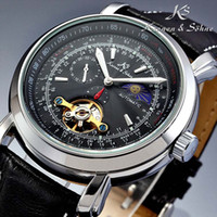 Luxury luxury watch - Mechanical Mens Watches Automatic Genuine KS Luxury Tourbillion Moon Phase Wrist Watch KS068