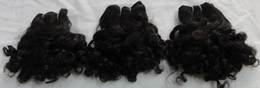 Wholesale 90days refund guarantee brazilian hair indian hair virgin human hair tight curl