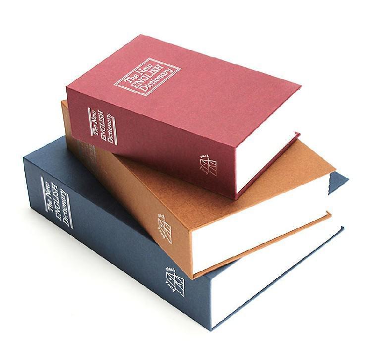 2017 Dictionary Style Safe Storage Box Secret Money Case