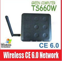 Wholesale TS660W Wireless Win CE OS Network Terminal Thin Client Net Computer Computer Shar