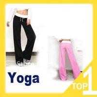 Wholesale Lady Women s Sport Drawstring Yoga Pants wear Cotton Clothing Lie Fallow Stylish Trousers