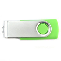 No USB 2.0 Other 2GB USB Flash Drives Thumb Swivel Design Green New Ship From USA 10pcs lot C00846