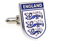 Wholesale enamel england letter design cufflinks for men metal cufflink novelty cufflinks B0022