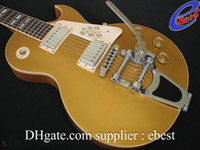 bigsby - custom R7 Reissue VOS Goldtop gold top electric with bigsby