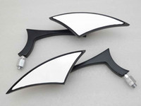 Wholesale Black Mini Custom Side Mirrors For Sportster Dyna Softail