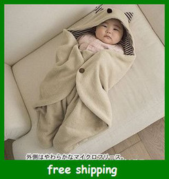 Wholesale Baby Stroller Swaddling Blanket in Sleeping bag sack Newborn Infant Swaddle Gifts