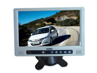 Wholesale 9 quot Car Stand Alone TFT LCD Monitor Stand Alone LCD TV Car LCD Touch Botton Wide Screen High Resoluti