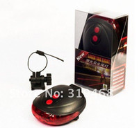 Wholesale Lowest Price Cycling Bike Bicycle Laser Light Beam Rear Tail LED Light Lamp LED Safety Light