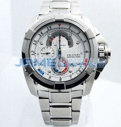 Wholesale Luxury Velatura Yachting Kinetic Chronograph Mens Watch Stainless Drive Wrist Men s Watches SPC005