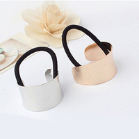 Wholesale 24pcs Hot Sale Womens Metal Pony Tails Holder Hair Band Colors Mix Headbands Hair Accessory