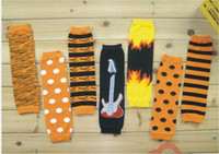 Wholesale New arrival cotton Knitted baby keep warm legging for Halloween gift