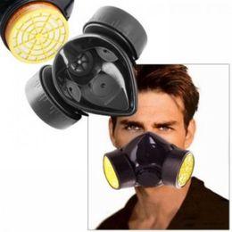 2017 masque pour les produits chimiques 120x New de haute qualité de la peinture industrielle chimique anti-poussière Gas Chemical Peinture respirateur Masque gros Livraison gratuite masque pour les produits chimiques promotion