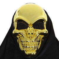 Wholesale Scary party mask Halloween Mask Horror Skull Skeleton Mask for Halloween Masquerade Cosplay H9044
