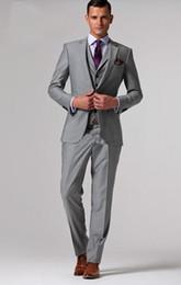 men suit complete designer tuxedo Bridegroom (jacket+pant+tie+waistcoat)