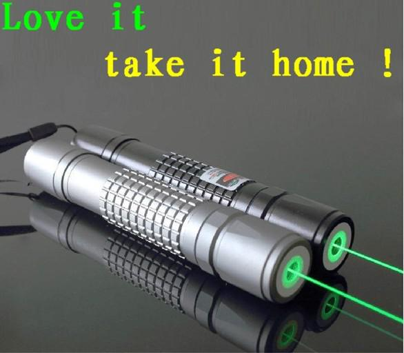 New 5000mw Green Laser Pointer Flashlight Burning Laser