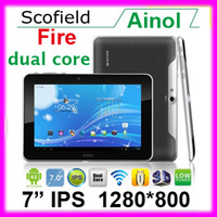 Wholesale Ainol novo Fire Flame quot IPS Amlogic8726 Dual Core GB GB Android Bluetooth Tablet