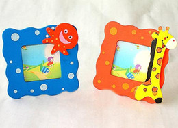 Wholesale Baby Picture Frame Wooden cartoon picture frame