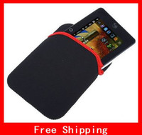 Wholesale Practical Soft Protect Cloth Bag Pouch Cover Case for quot Tablet PC MID Notebook Black Color