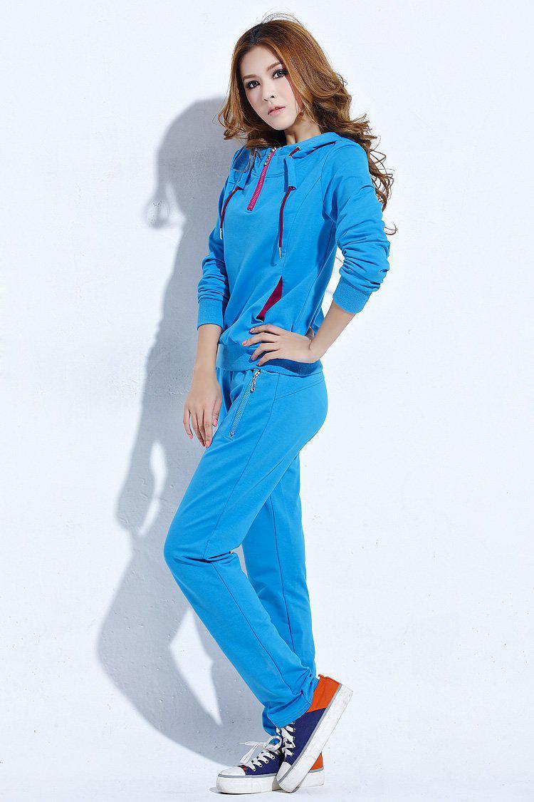 warranty plus size hooded sport clothes women leisure cloth sportswear