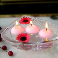 Wholesale Mix Colors Tealight Floating Candle Flameless Wedding Birthday Party Favor Home Decor