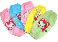 Wholesale pairs Children s Cartoon waterproof antifouling oversleeve printing Many styles