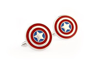 Wholesale The captain design cufflinks for men metal cufflink novelty cufflinks B0047