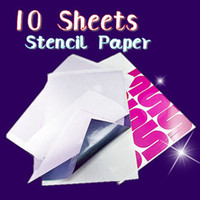 Wholesale Top Quality Sheets A4 Tattoo Transfer Stecial Paper Spirit Master